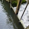 Sluice at Bye Mills, near Belluton