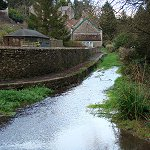 The River Chew at Dumpers Lane, Chewton Mendip