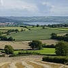 Chew Valley Lake viewed from Dundry Hill