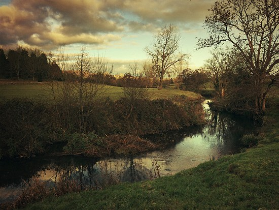 The River Chew between Stanton Drew and Pensford